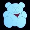 Teddy mit Latz, gro�